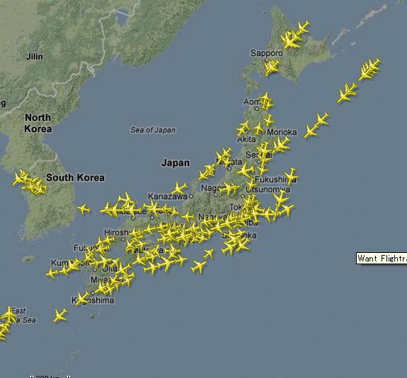 フライト レーダー 24 フライトレーダー24をPCで使いたいと思います。日本語表示で使用でき...